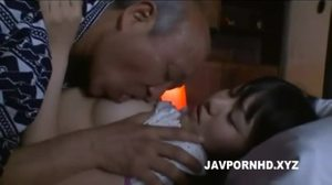 Fucking, Jav, Old and young, Perky, Grandfather, Young, Not daughter