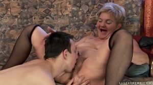 Fucking, Mature, Mommy, Grandmother, Granny, Hairy, Old